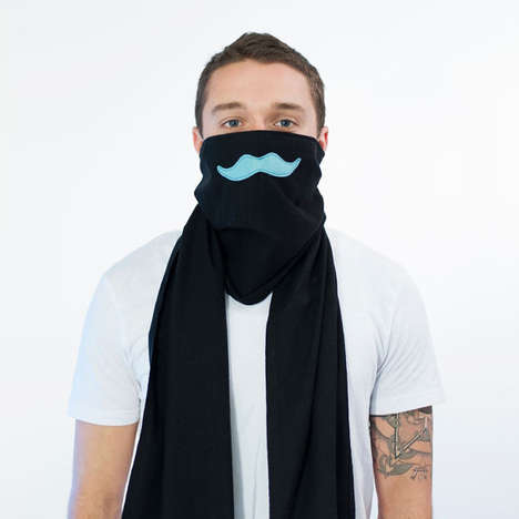 Sickness-Deflecting Scarves - The Scough Scarf Designs Fashionably Ward Off Sickness