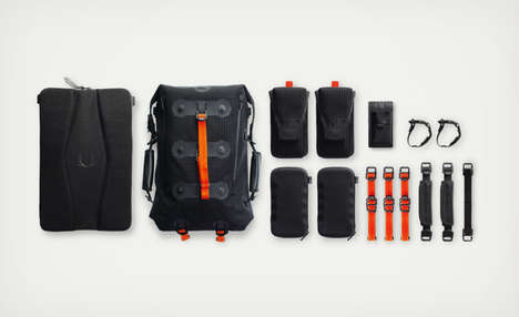Modular Urban Packs - The Ember Backpack Allows You to Add or Remove Storage Compartments