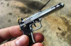 45 Caliber-Inspired Keys - This 45 Caliber Pistol-Inspired Key Will Blast Open Your Front Door