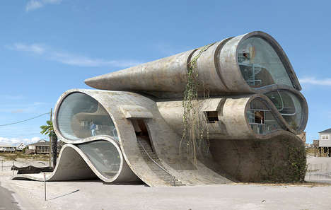 Surreal Apocalyptic Architecture - Dionisio Gonzalez Presents Architecture of Resistance