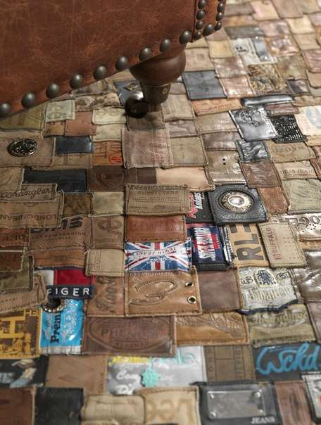 Recycled Jean Part Rugs - Polytuft