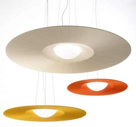 Spherical Spaceship Lighting - Mood by Annarosa Romano and Bruno Menegon Encompasses Minimalist Chic