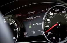Predictable Traffic Light Autos - The Audi Online Traffic Light Information System Saves Fuel