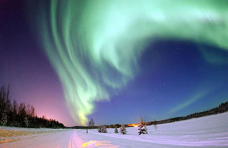 20 Products Inspired by the Northern Lights - From Solar Storm Videos to LED Landscape Scenery