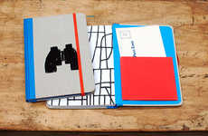 Collaborative Exquisite Notebooks - This Tucker Nichols Notebook is Changing the Face of Note-Taking