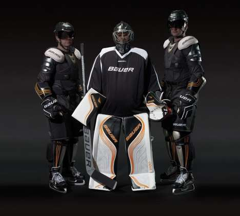 46 Hockey Innovations - From Creative Hockey Products to Expandable Hockey Pads