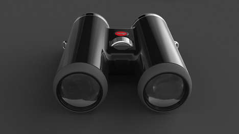 Streamlined Mod Binoculars - The Leica Telescope H1 Trades Dials and Buttons to Be Beautifully Sleek
