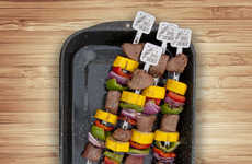 The Spice Inside Grill Kabob Skewers Allow Cooks to Conveniently Infuse Flavor