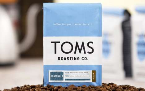 Conscientious Coffee Beans - TOMS Coffee and Cafes Provide Weekly Water Supplies to Remote Areas