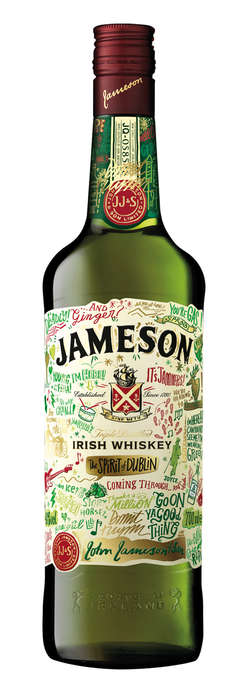 Irish Essence Booze Branding - This Limited Jameson Irish Whiskey Captures the Spirit of Dublin