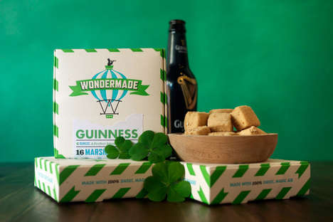 Fluffy Alcoholic Desserts - The Guinness Marshmallows are Perfect for St. Paddy