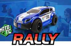 Phone-Controlled Rally Cars - MOTO TC Presents the iPhone-Controlled Rally Car