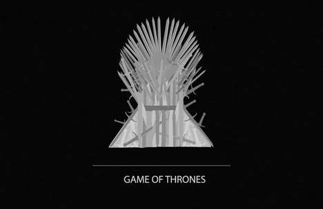 Minimalist Pop Culture Intros - Student Animators in Paris Created This Game of Thrones Opening