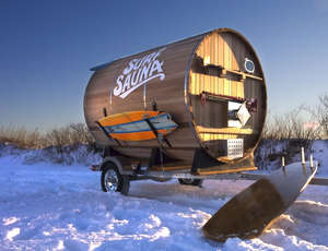 Custom Portable Saunas - The Surf Sauna is a Portable Sauna That Can Be Used Anywhere