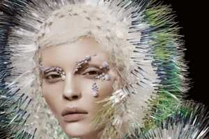 The Natural Vision Editorial for Vogue China is Eccentric and Artsy