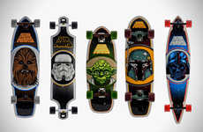 Santa Cruz Company has Partnered With LucasFilm to Make Star Wars Skateboards