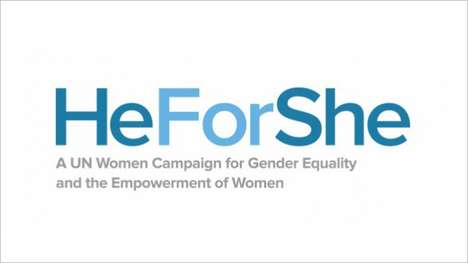 Male-Supported Equality Commercials - HeForShe Shows Notable Men Speaking Up for Gender Equality