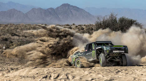 Off-Road Races - The Mint 400 Competitively Shows Off Adventurous Innovations