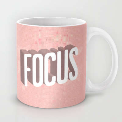 Focus-Driven Mugs - This Printed Mug Will Keep You On Track All Day