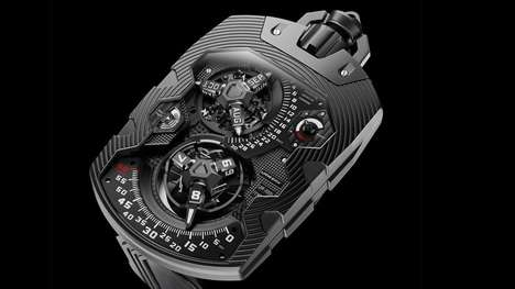 Durable 1000 Year Watches - Urwerk has Created a Luxury Pocket Watch that Will Run for 1000 years.
