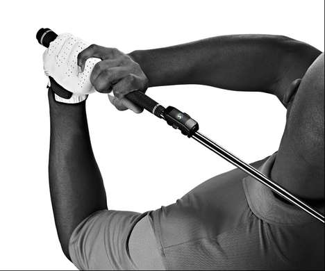 Golf Swing-Analyzing Sensors - The SwingSmart Golf Swing Sensor Captures Every Element of Your Swing