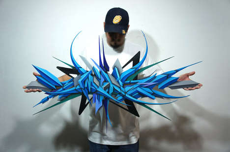 Spiny Graffiti Artwork - Victor Malagon