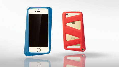 Mountable Mobile Protectors - The Arkhippo Tilt iPhone Case Introduces Better Hands-Free Handset Use