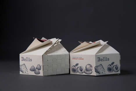 Bellis Preserves packaging