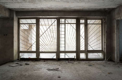 Deserted Building Photography - Alfonso Batalla Highlights Past Primes with