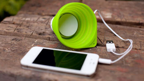 Collapsible Cup Speakers - The