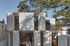 Sleek Concrete Slab Structures