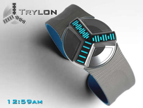 Time Machine Timepieces - The Trylon Watch Concept References