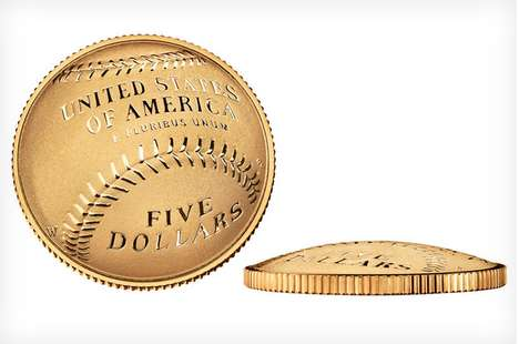 Baseball-Inspired Monies - The US Mint Curved Coin is the First of Its Kind