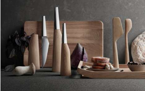 Curvy Culinary Implements - The Barbry Kitchen Utensils Take Full-Bodied Forms as Aesthetic Flavor