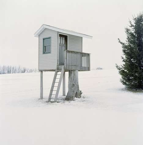 Hunting Cabin Photography - Hide by Jason Vaughn Captures a Wisconsin State Tradition