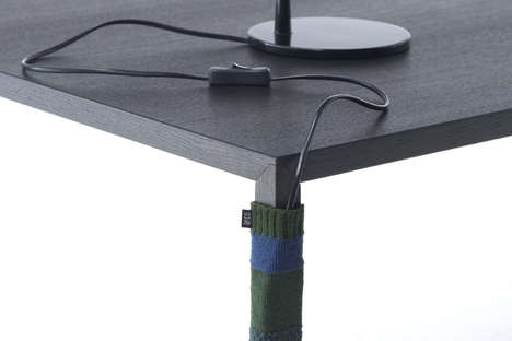 Cord Clutter Stockings - The Cable Sock Keeps Unwieldy Wires from Forming Webs About Your Workspace