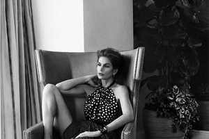 The Harper's Bazaar Russia March 2014 Issue Stars Cindy Crawford