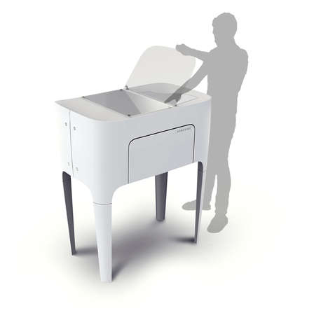 Innovative Printing Appliances - The Touch Printer Affords Freedom and Diverse Functionality