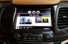 Auto Music Services - The Chevrolet AppShop Brings Beats Music to Your Car's Dashboard