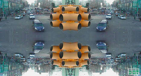 Trippy Traffic Camera Photos - Jason Bridle Turns Surveillance Cameras into Art