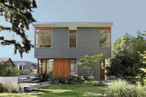 Refuge-Encouraging Abodes - The Main Street House by SHED Architecture & Design Stimulates Solace