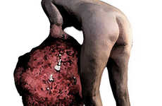 Man-Eating Cancer Sculptures - This Sculpture Will Look Like a Cancerous Tissue Swallowing a Person