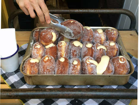 Lemon Door Donut Shops - Cream Donuts are the Newest Attraction in East London