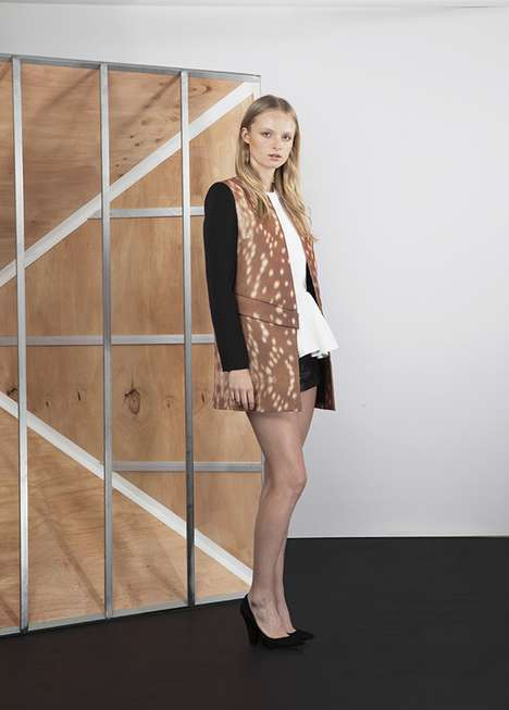 Fawn-Printed Fashion - Cameo