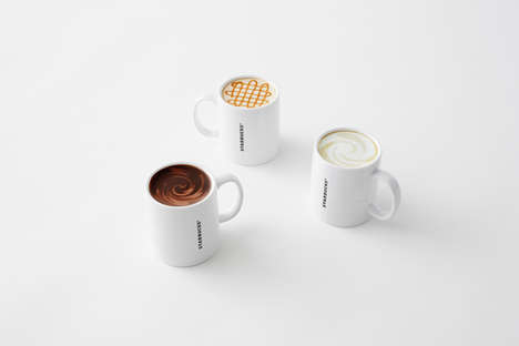 Faux Filled Coffee Cups - Nendo