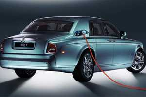 A Rolls-Royce Design for an All-Electric Car is in the Works