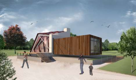 Sustainable Housing Concepts - This Plug-In Housing Aims to Minimize Energy Costs for Homes
