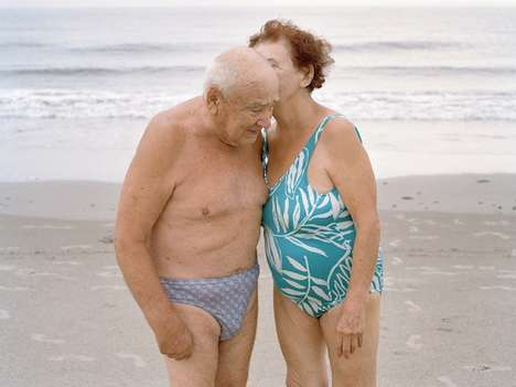 Passionate Elderly Photography - These Heartwarming Photos of Seniors Kissing Show Everlasting Love