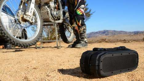 Rugged Bluetooth Outdoor Speakers - The New Braven BRV-X Speakers are Waterproof and Shockproof