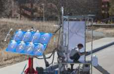 Solar-Powered Toilets
